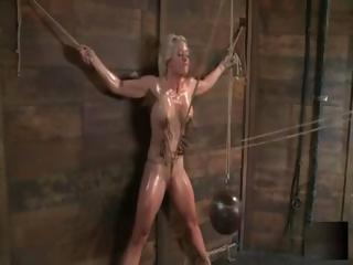 Blonde Holly Heart Is Tied Up And Abused By Her Sadistic Master