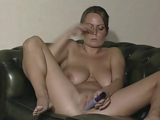British Slut Alexis May in solo action
