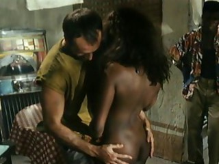 Ass Ebony Interracial Threesome