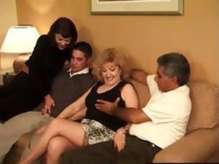 Family Groupsex Mature Old and Young