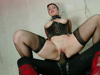 British Slut Paige Turnah gets fucked in a kinky scene