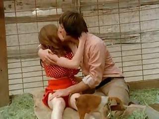 Farm Funny Kissing Teen Vintage