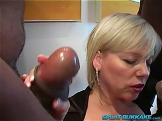 Amateur Blowjob Gangbang Interracial Mature