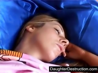 Daughter Drunk Sleeping Teen