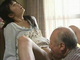 Asian Clothed Japanese Licking MILF Old and Young