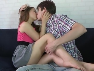 Teen couple