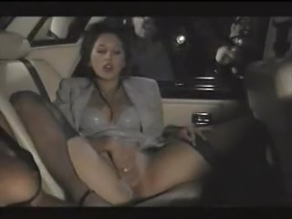 Amazing Car Masturbating MILF Stockings Vintage