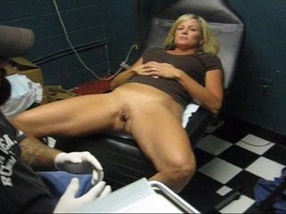 MILF Piercing Shaved