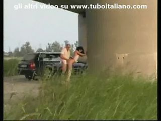 Amateur Car Italian Outdoor Public