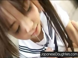 Amazing Blowjob Japanese Student Teen