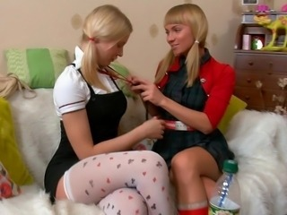Young lesbian pussies