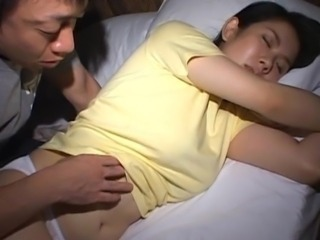 Asian Cute Panty Sleeping Teen