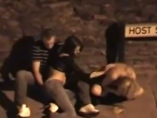 Teen Gets Fingered While Her Friends Vomits