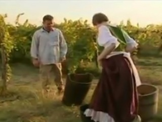 Horny French villagers try anal
