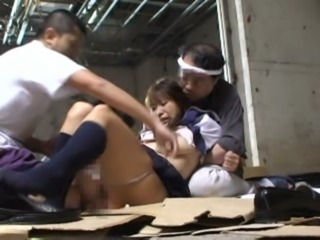 Asian Forced Hardcore Student Teen Threesome