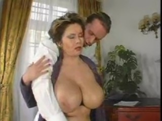 Big Tits Bus Mature Natural Old and Young