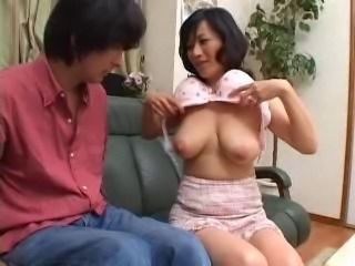 Asian Mom Natural Old and Young