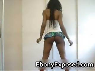 Black stunner shakes her bubbly booty part6