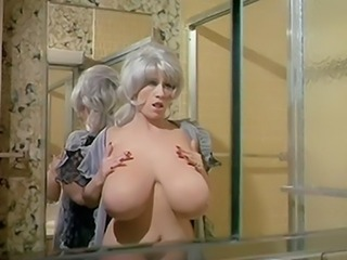 Chesty Morgan Washing Her World's huge Bust