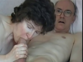 Grandpa Shaky fucks his beautiful mature wife 8of9