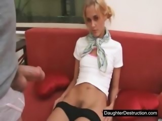 Daughter Skinny Teen Young