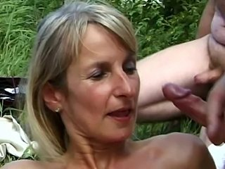 Amateur Bukkake Mature Outdoor