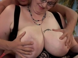 Anal BBW Big Tits Glasses Mature Natural Old and Young