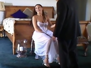 Big Tits Bride MILF Threesome