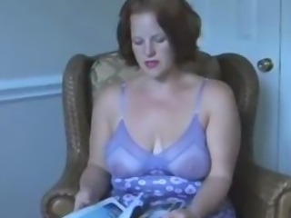 Amazing Chubby Lingerie MILF Mom Natural SaggyTits Vintage