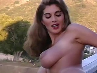 Amazing Big Tits Cute MILF Natural Outdoor
