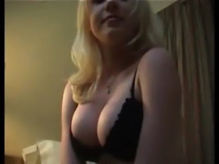 Babe Big Tits Blonde Lingerie