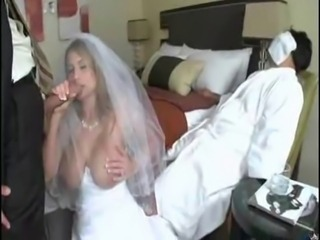 Big Tits Blowjob Bride Cuckold MILF Natural SaggyTits