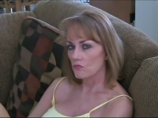 Mom gives not her son a blowjob POV