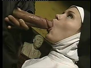 Dude has sex with a naughty nun