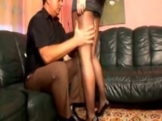 Legs Old and Young Pantyhose Teen