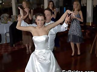Amateur Bride Cute Dancing Teen