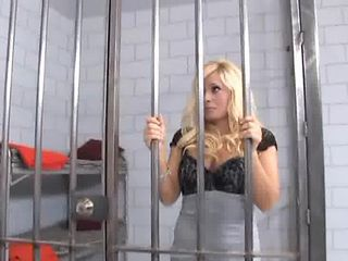 Busty blonde hooker fucking in sheer stockings