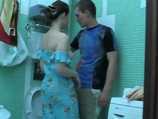Amateur Bathroom Cute Teen