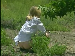 Young slut gail gets banged by her brother outdoors