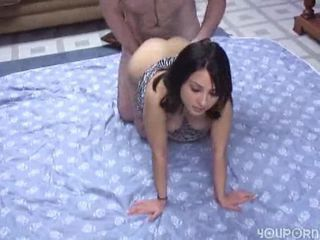 very cute brunette blowjob and sex + Download: http:/...