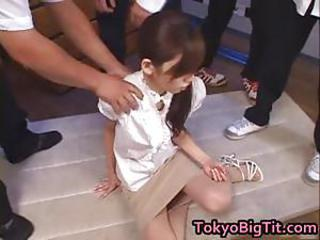 Asian Gangbang Japanese MILF Skinny Skirt