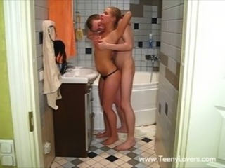 Bathroom Russian Sister Teen