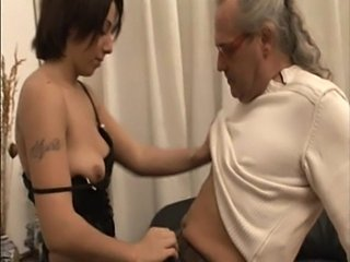 Amateur Daddy Daughter Old and Young Tattoo Teen