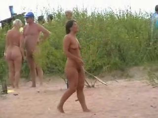 Nude beach play