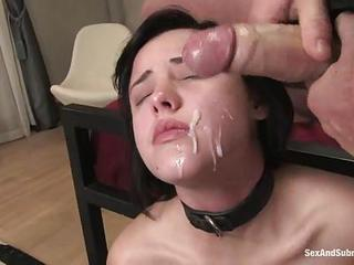 Hes A Bad Ass Who Likes To Get Restrained Ass Shes Fucked Hard