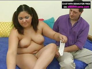 Fat Young Latina Gets A Ride And Sucks A Cock