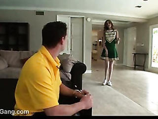 Young Cheerleader Fucked By Trainer