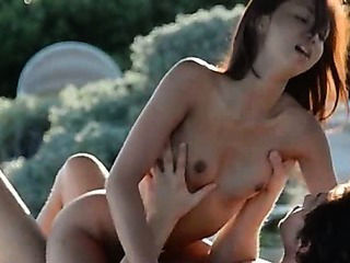 tight asian and outdoor fuck