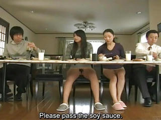 Asian Family Japanese MILF Mom Teen Upskirt