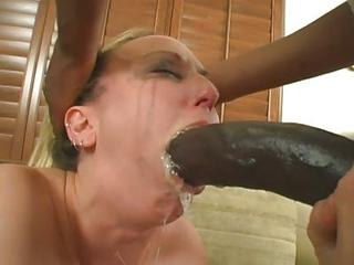 Sexy Bitch Zoe Matthews Gobbles His Big Prick All The Way Down Her Thr...